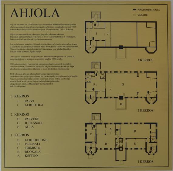 Ahjola-pohjapiirros