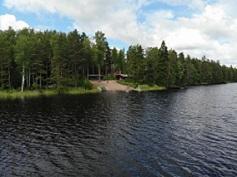 Märkiö_ranta järveltä