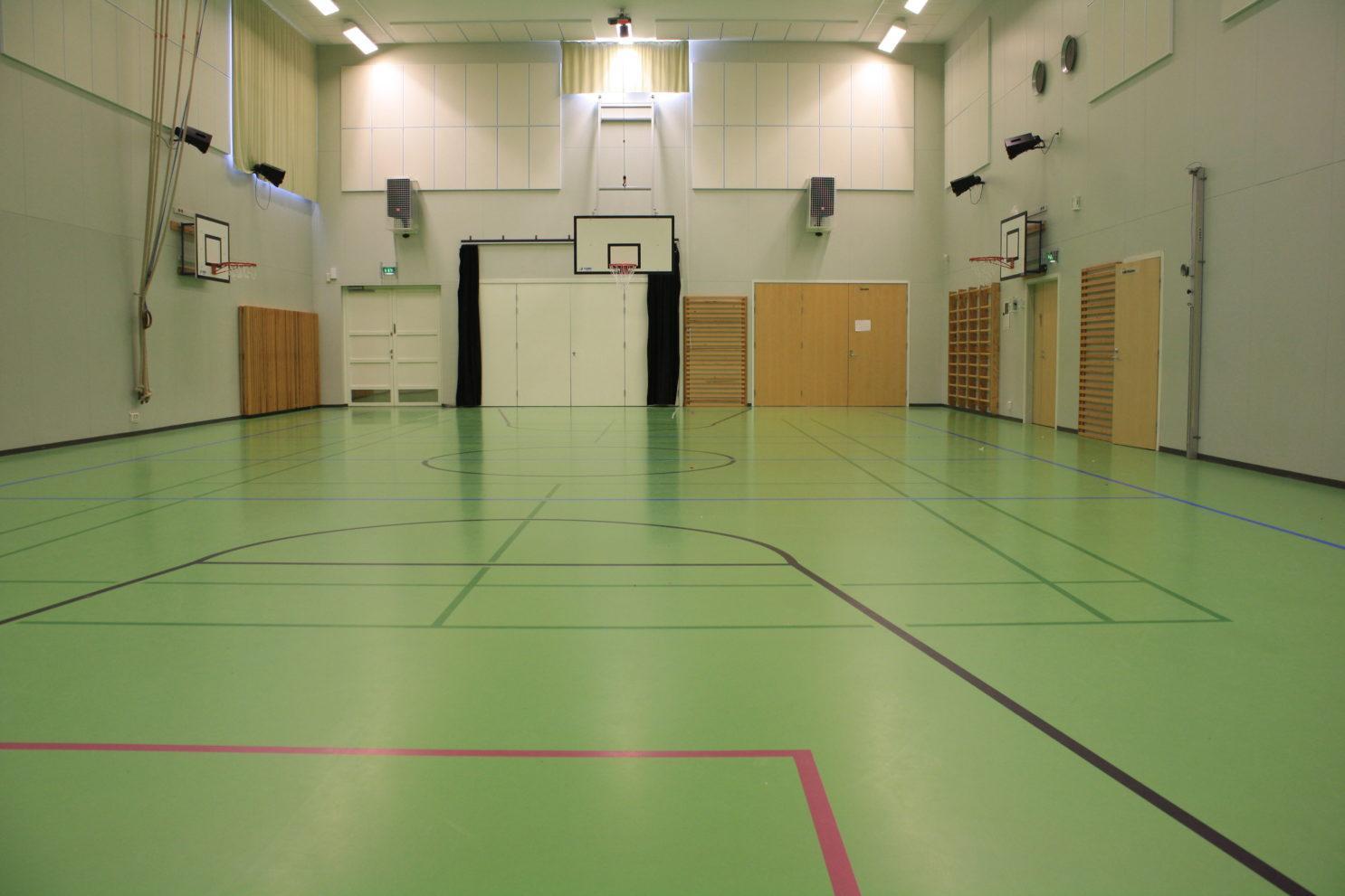 Haikalan koulun sali