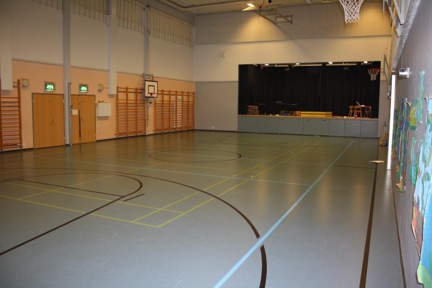 Harjulan koulun sali