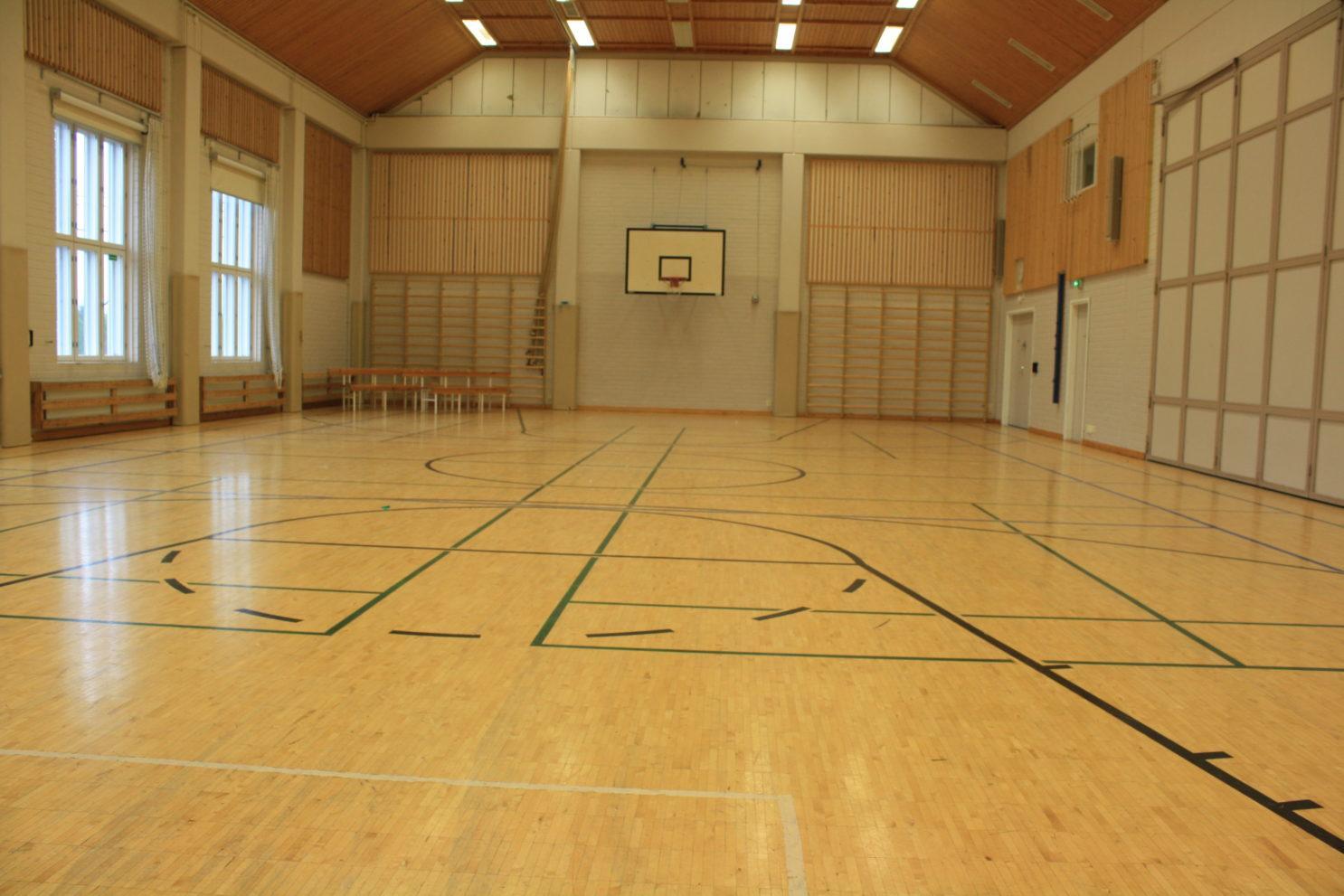 Palojoen koulun sali