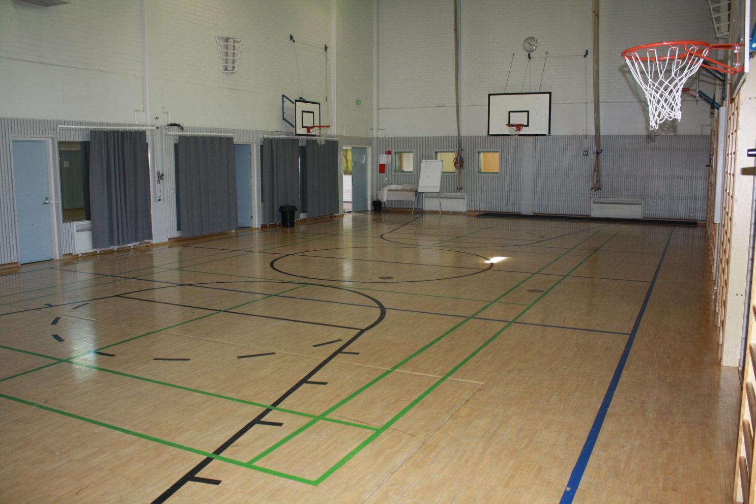 Syrjälän koulun sali