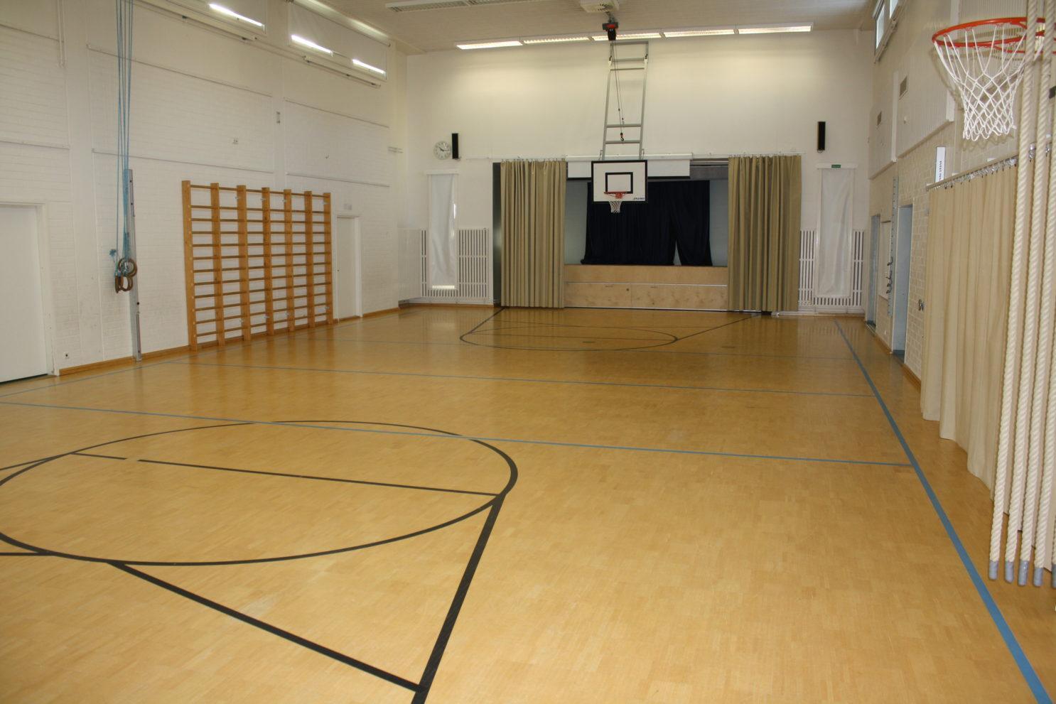 Uotilan koulun sali