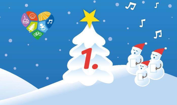Joulukalenterin luukku 1