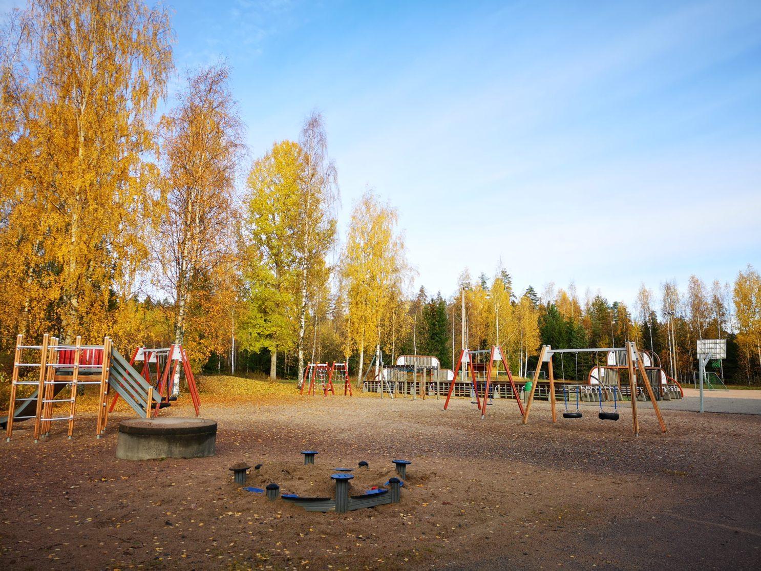 Palojoen koulun lähiliikuntapaikka