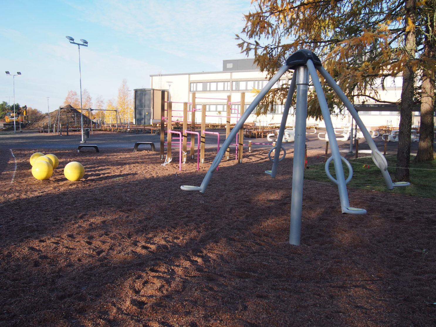 Urheilupuiston koulun lähiliikuntapaikka