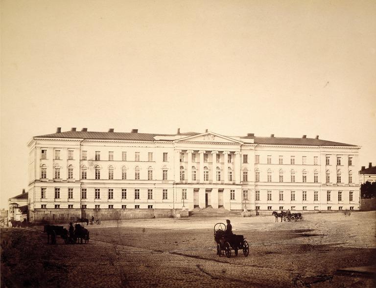 Aleksanterin yliopisto (Helsingin yliopisto) 1860-luvulla.