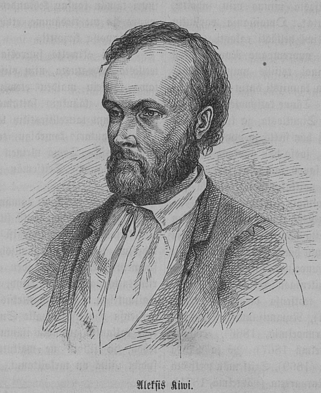 Piirros Aleksis Kivestä