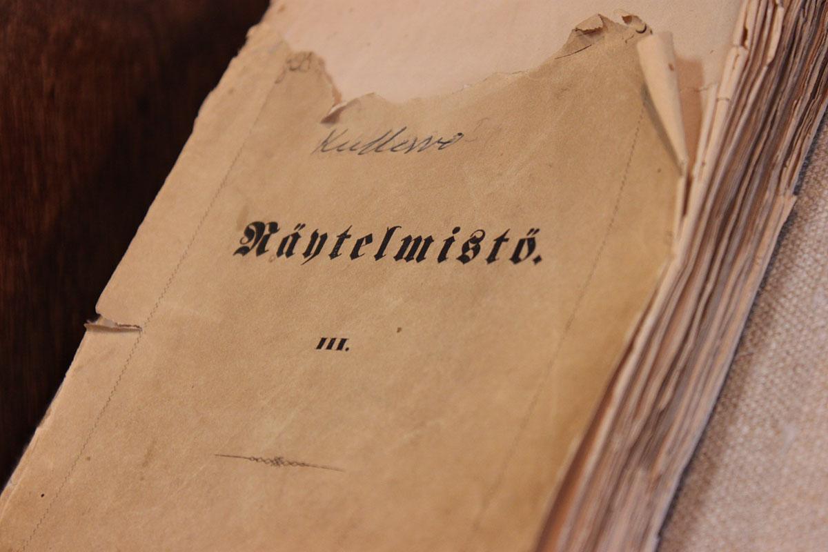 Kullervon ensipainos vuodelta 1864.