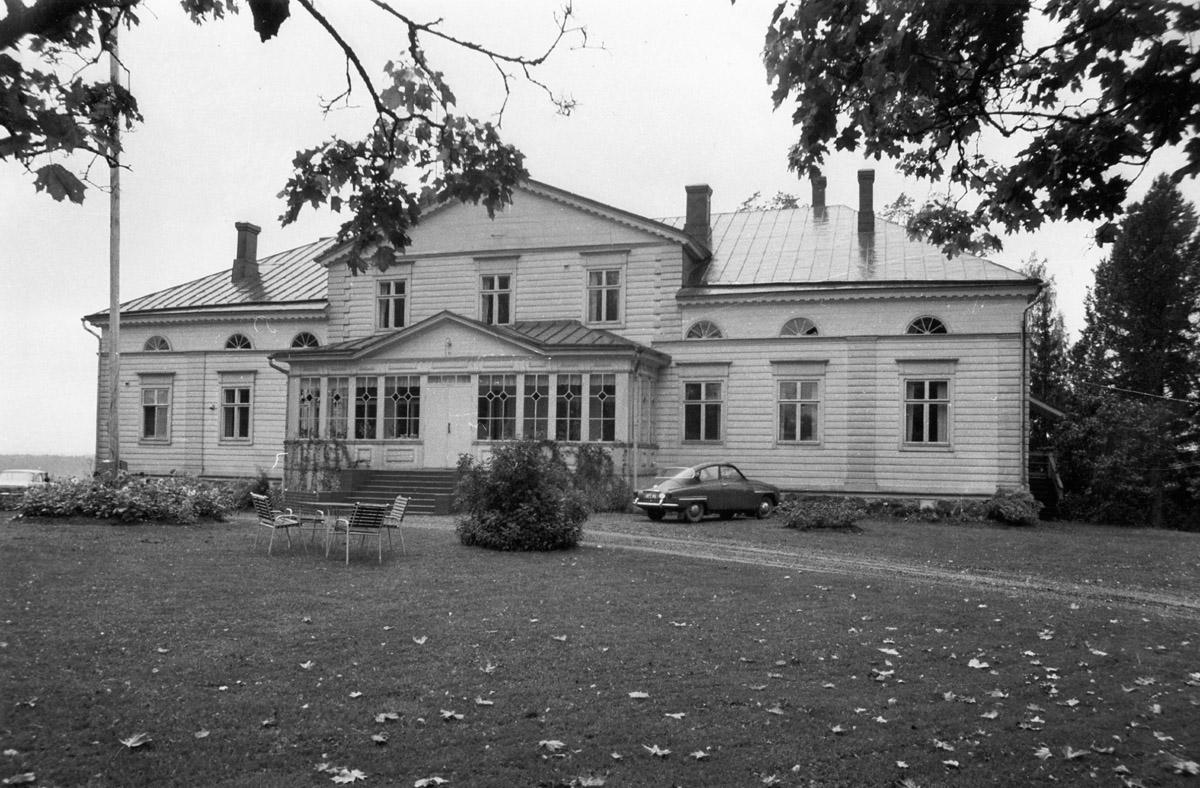 Raalan kartanon päärakennus, 1967
