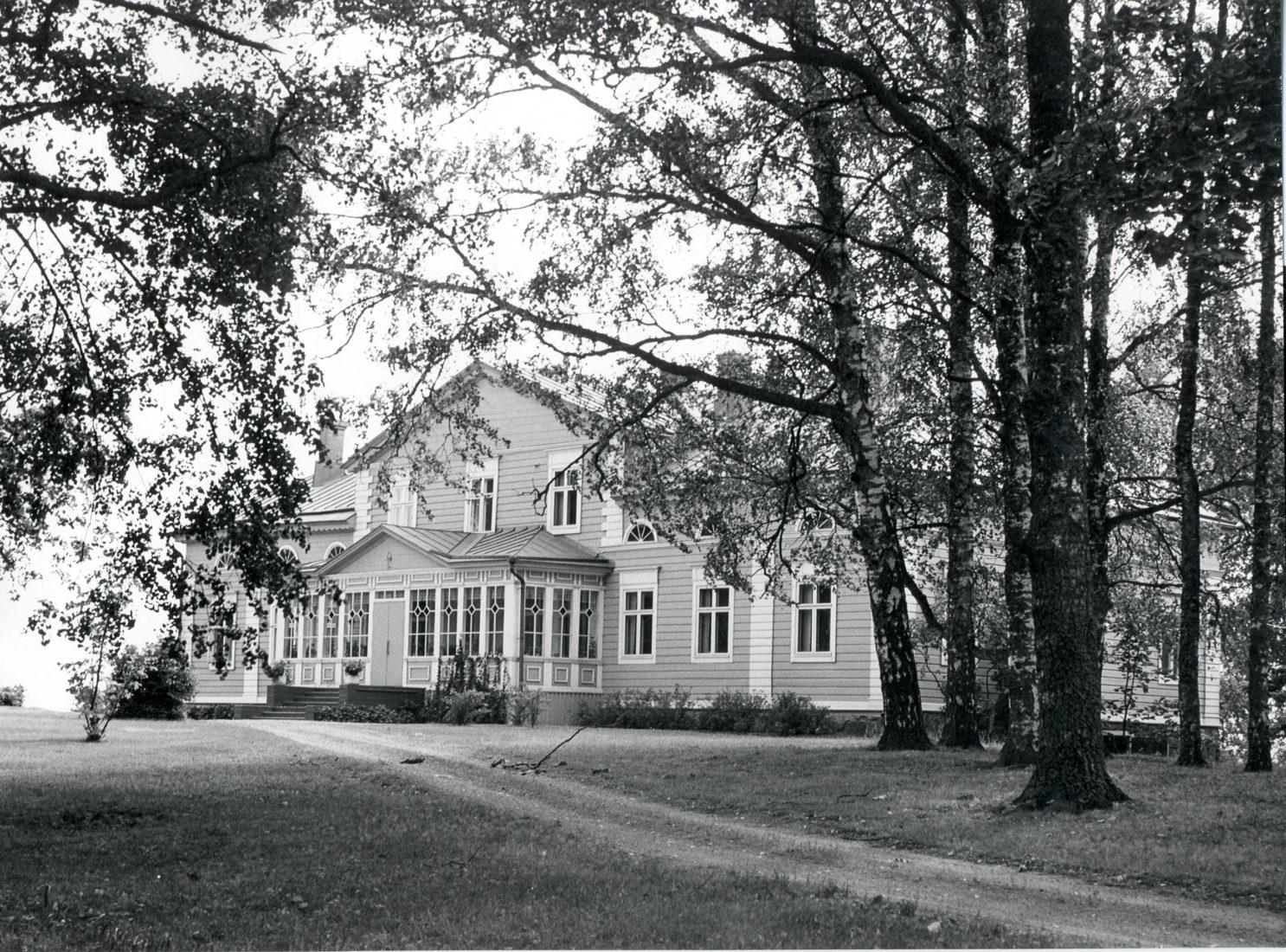 Raalan kartano vuonna 1975.