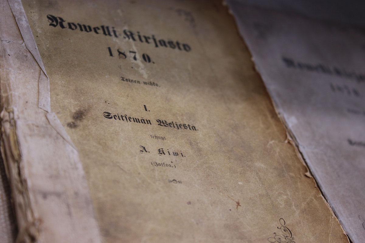 Seitsemän veljeksen ensipainoksia, SKS/1870.