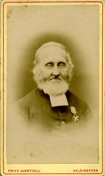 Tuusulan seurakunnan kirkkoherra Carl Aspergren