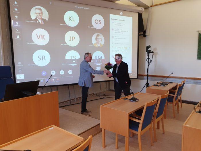 Jukka Anttila ja Kallepekka Toivonen