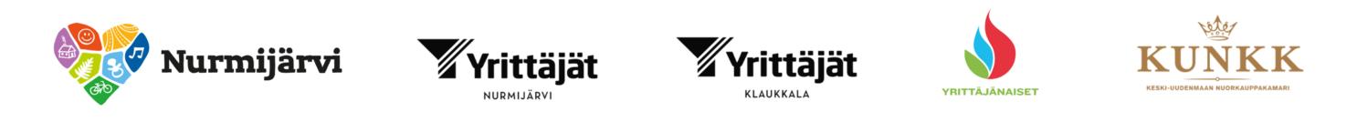 ShopUpDays tapahtuman järjestäjien logot
