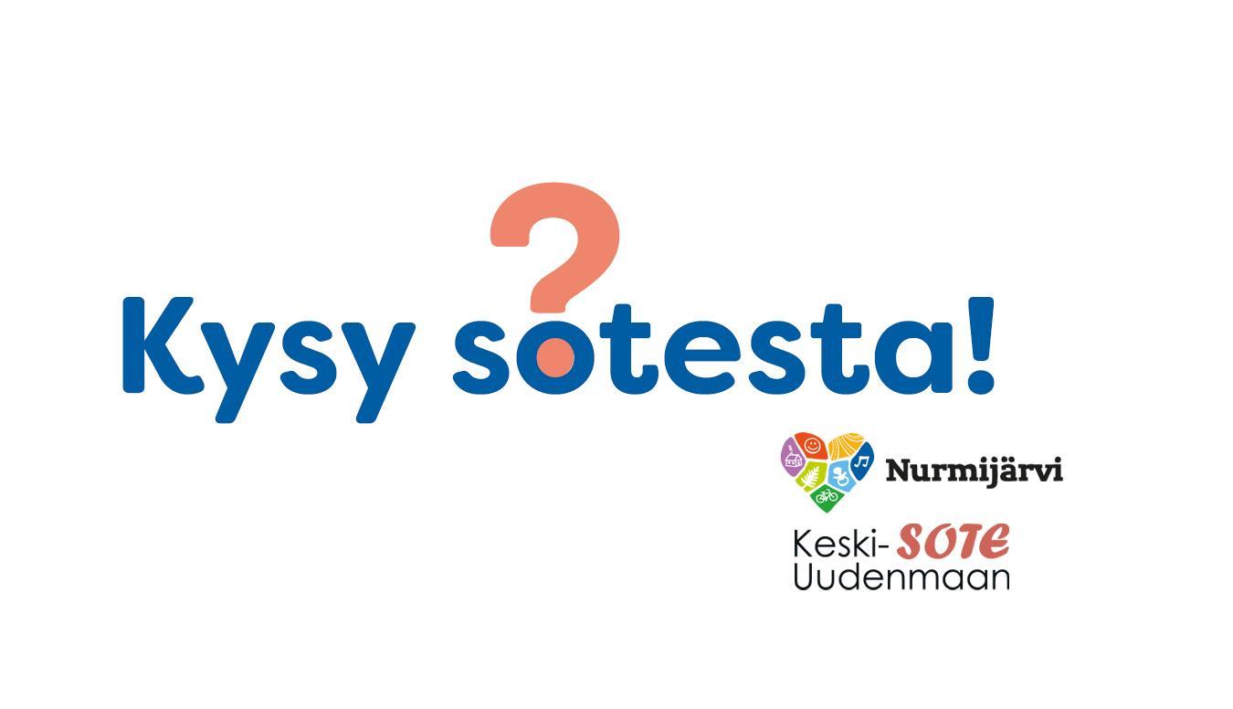Kysy sotesta -logo