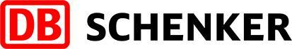 Schenker Oy:n logo, joka on myös linkki yrityksen ilmastotyötä esittelevälle sivulle.