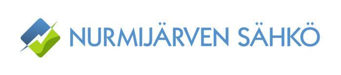 Nurmijärven Sähkön logo,joka on myös linkki yrityksen ilmastotyötä esittelevälle sivulle.