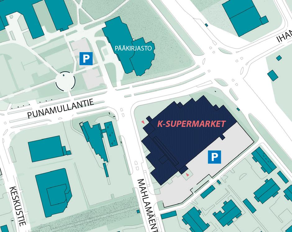 Kirkonkylän ennakkoäänestyspiste - K-Supermarket