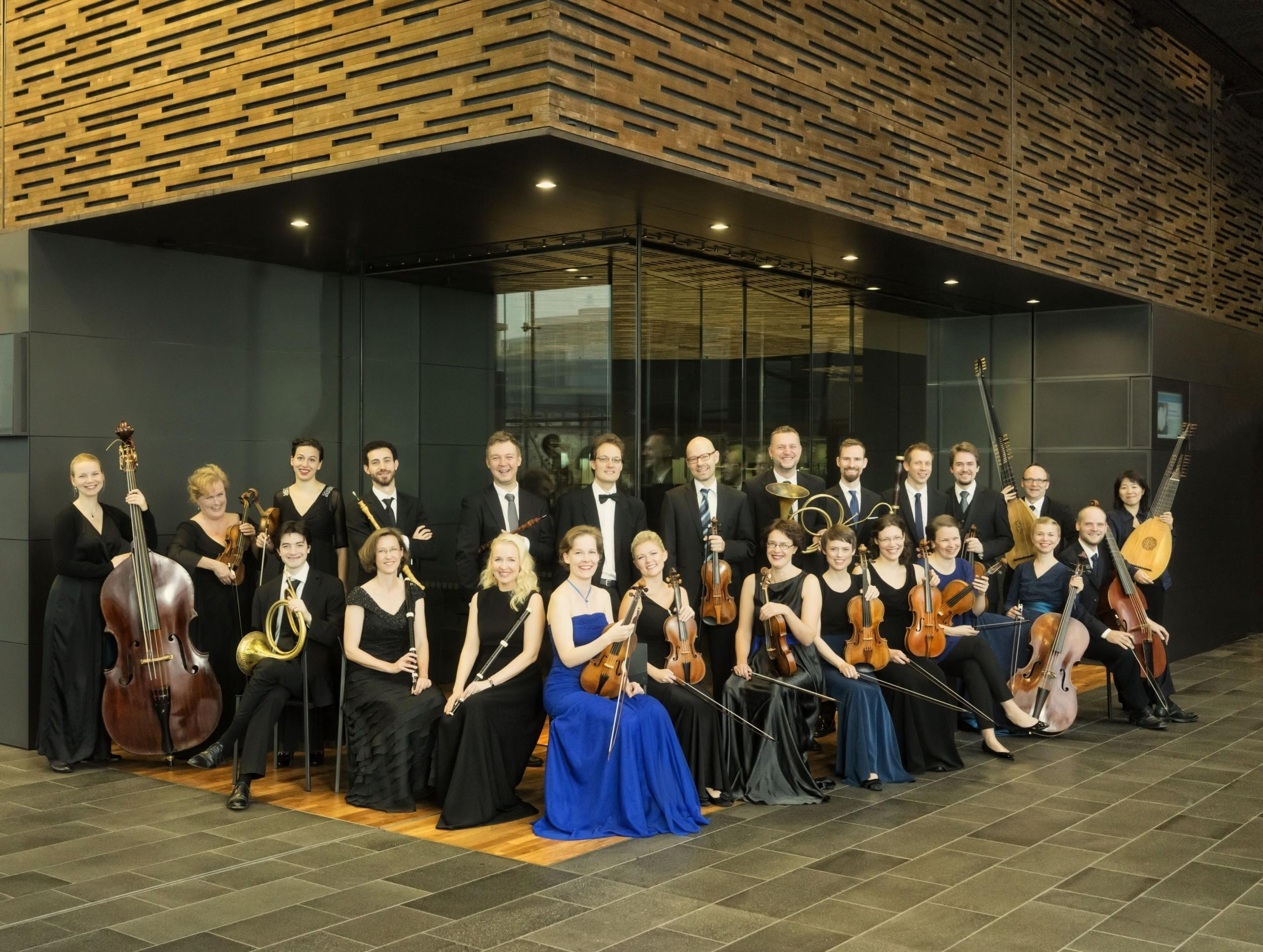 Helsingin Barokkiorkesteri. Kuva Marco Borggreve.