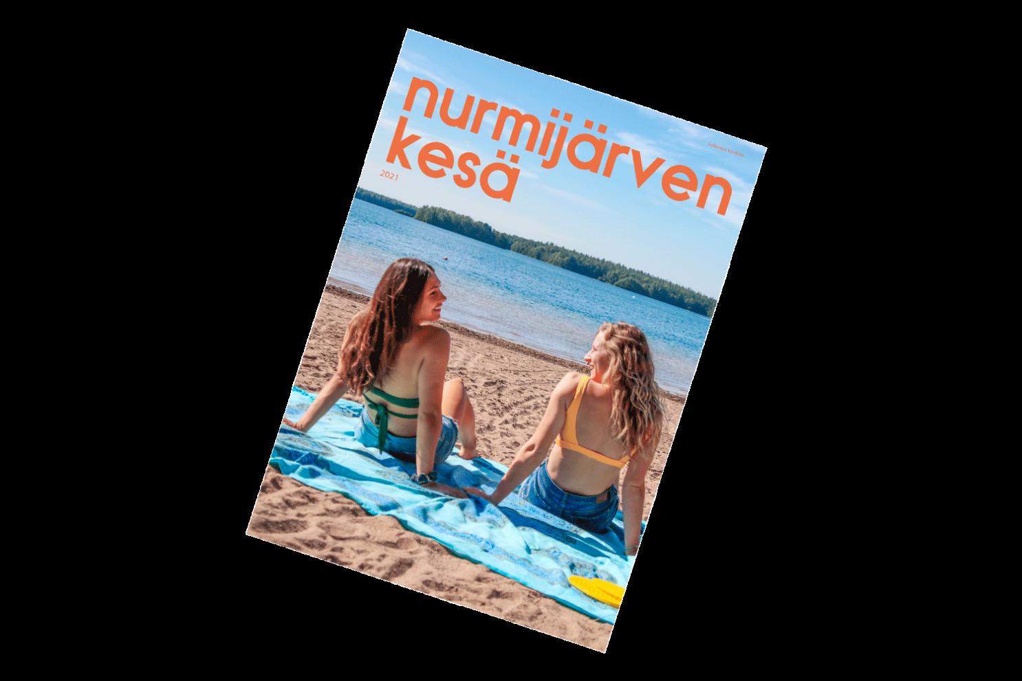 Nurmijärven kesä 2021 -esitteen kansi