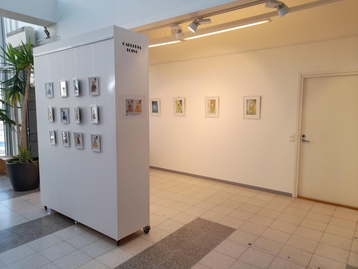 Galleria Toivon näyttelytila